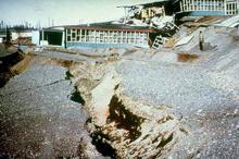 Government Hill Elementary School landslide 1964