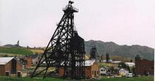 Montana mine shaft (Copyright © Marcus Milling