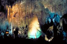 Cave in Carlsbad Caverns