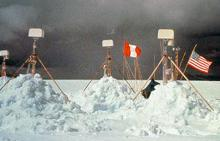Weather Stations at the Quelccaya Ice Cap