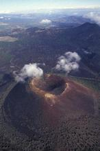 Sunset Crater in the Colorado Plateau