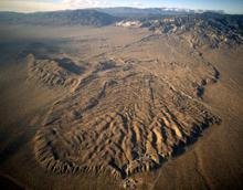 Blackhawk slide on San Andreas Fault